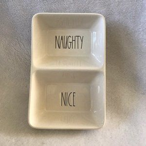 Rae Dunn NAUGHTY NICE tray